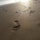 Footprints  by Ellaaa M