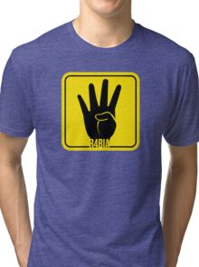 R4BIA popular T Shirts and stickers Tri-blend T-Shirt