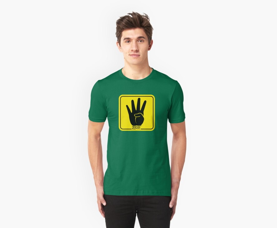 R4BIA popular T Shirts and stickers by darweeshq