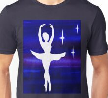 Dancing With The Stars Ballerina Silhouette  Unisex T-Shirt