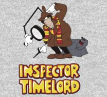 Inspector Timelord Kids Clothes