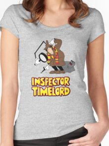 Inspector Timelord Women's Fitted Scoop T-Shirt