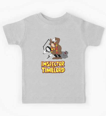 Inspector Timelord Kids Tee