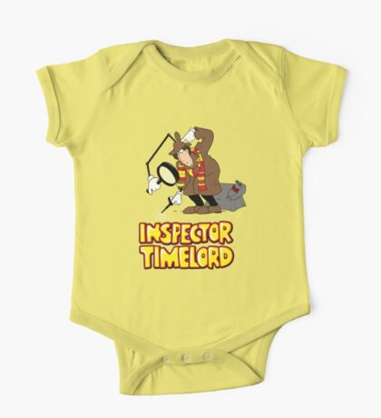 Inspector Timelord One Piece - Short Sleeve