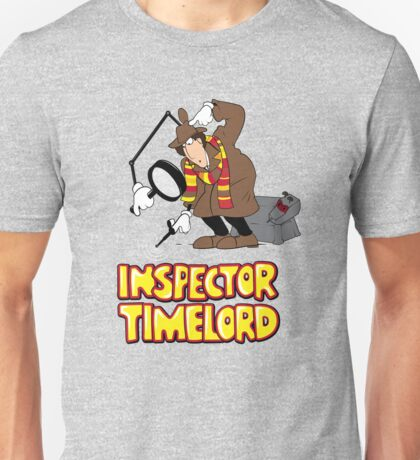 Inspector Timelord Unisex T-Shirt