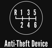 Manual Transmission: Anti-Theft Device One Piece - Long Sleeve