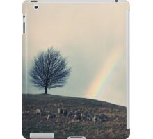 Chasing rainbows and counting sheep. Same thing really. iPad Case/Skin