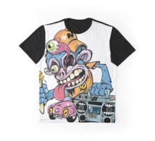 Monkey Art Design Monster Graphic T-Shirt