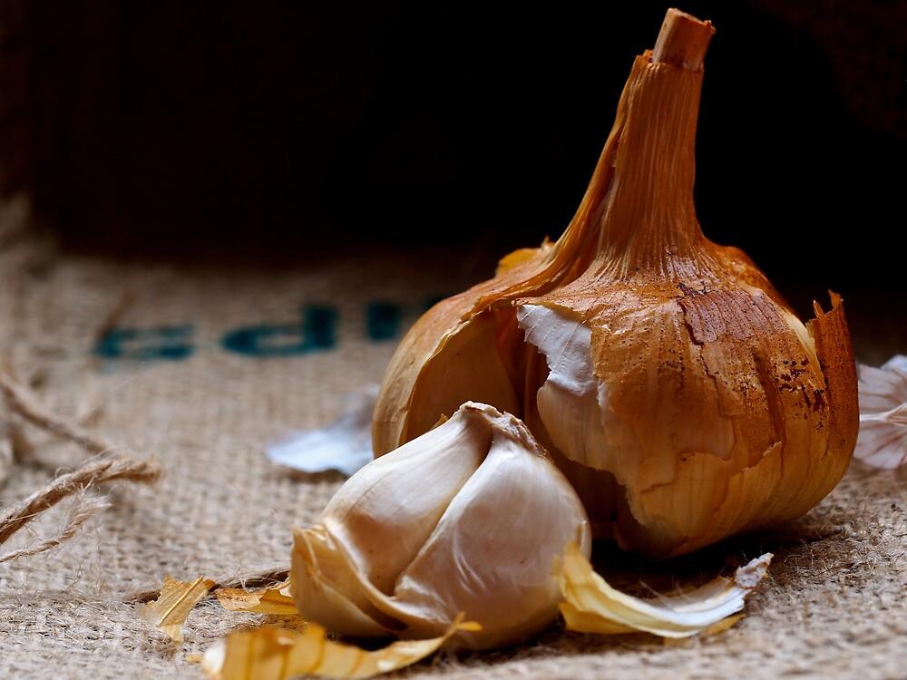 Smoked Garlic by George Swann