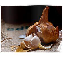 Smoked Garlic Poster