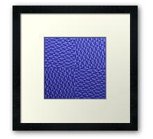Vague Blur (violet monochrome) Framed Print