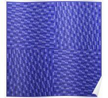 Vague Blur (violet monochrome) Poster
