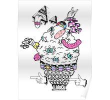 Monster Ice Cream  Poster