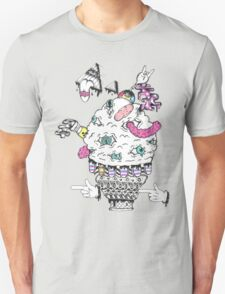 Monster Ice Cream  Unisex T-Shirt