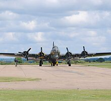Boeing B-17 Flying Fortress (Sally B) by Nigel Bangert