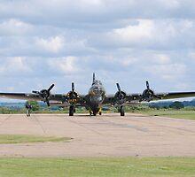 Boeing B-17 Flying Fortress (Sally B) by Nigel Bangert