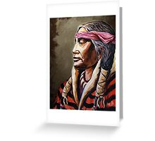 """Native Nobility"" Greeting Card"