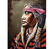 """Native Nobility"" Photographic Print"