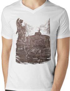 exlibris - Vincenzo Ciccotti Mens V-Neck T-Shirt