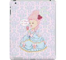 Let them eat cake iPad Case/Skin