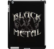 BLACK METAL BAPHOMET iPad Case/Skin