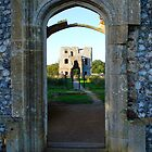 Castle Doorway by JenThompson85