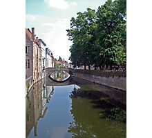 Bruges Canal Photographic Print