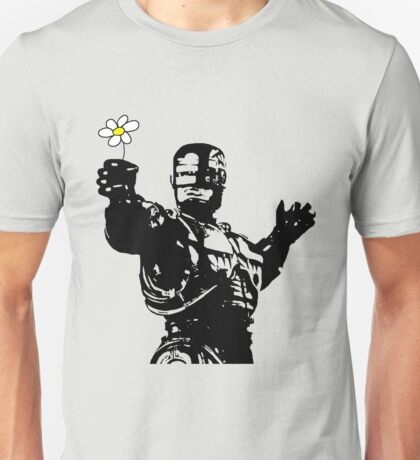 "Robocop ""likes flowers"" Unisex T-Shirt"