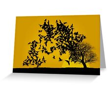 Home To Roost Greeting Card