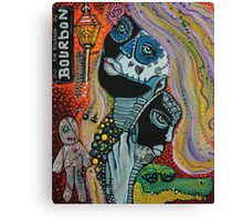 Dreaming of Mardi Gras Canvas Print
