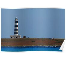 Lighthouse, Menorca Poster