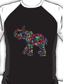 Abstract Elephant Illustration T-Shirt