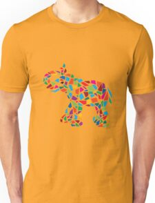 Abstract Elephant Illustration Unisex T-Shirt