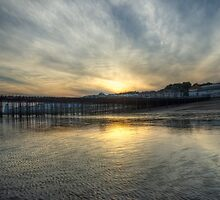 Hastings Sunset by Angie Morton