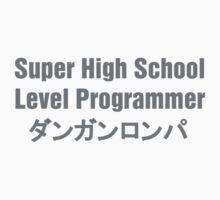 Danganronpa SHSL Programmer (Gray Text) Kids Tee