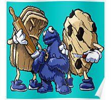 Cookies Art Design Monster Poster