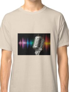 Retro Microphone Classic T-Shirt