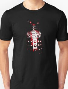 Dalek Alpha – Red Unisex T-Shirt