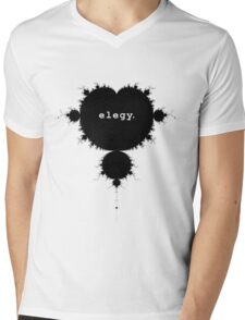 elegy. Mens V-Neck T-Shirt