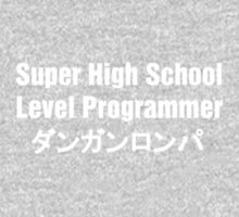 Danganronpa SHSL Programmer (White Text) Kids Tee