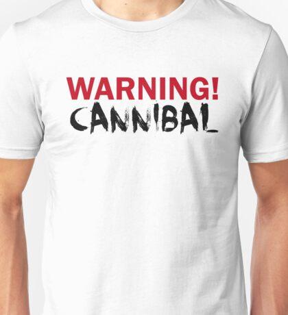 WARNING CANNIBAL T SHIRT T-Shirt