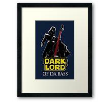 Dark Lord of Da Bass (Star Wars) Framed Print