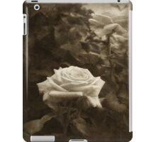 Pink Roses in Anzures 5  Antiqued iPad Case/Skin
