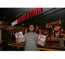 Omar Allibhoy promotes his new book Tapas Revolution Photographic Print