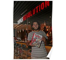 Omar Allibhoy promotes his new book Tapas Revolution Poster