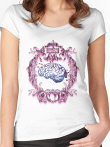 BRAIN Women's Fitted Scoop T-Shirt