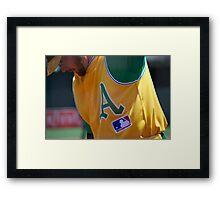 Oakland Baseball Framed Print