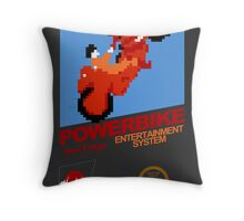 Powerbike Throw Pillow