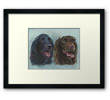 A fine Pair Framed Print