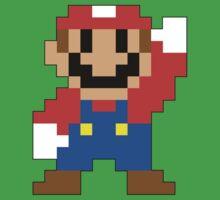 Super Mario Maker - Modern Mario Costume Sprite Baby Tee